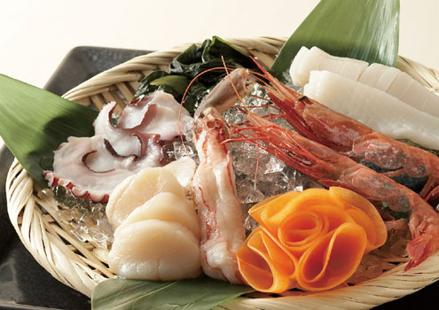 海鮮5種盛り合わせ