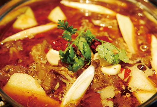 スペアリブのパイスープ